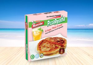 FROZEN PIZZA PARATHA