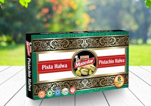 PISTA HALWA (40 GM CUBES INDIVIDUALLY WRAPPED)