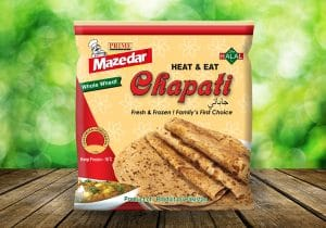 WHOLE WHEAT CHAPATI 400 GMS